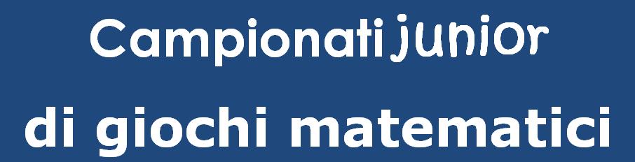 Campionati Junior Di Giochi Matematici